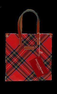 Dooney & Bourke ~ Plaid purse or lunch bag.