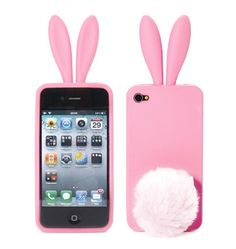 Rabito iPhone case. I have this one. Too bad the cottontail doesn't suction securely on the back. It's supposed to prop up your phone when you're watching a video or listening to music.
