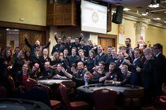 Tout le staff croupiers, TD, floor... MERCI  ! #Winamax #SISMIX #poker #music #festival. Crédit Photo: Caroline Darcourt