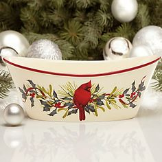 32 best lenox winter greetings images on pinterest christmas china winter greetings oval bowl by lenox m4hsunfo