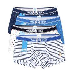 4pcs Lot PINK HEROES High-quality Cotton Underwear Men Boxer Shorts Fashion  Print Male Underpants 5f70c7d75
