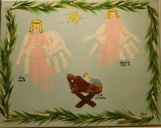 Preschool Christmas Crafts Jesus | Angels and Jesus in Manger | Christmas Preschool Crafts