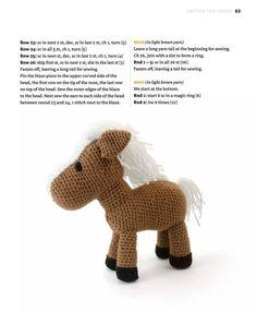 Pedro the Donkey Crochet pattern by Airali design Owl Crochet Patterns, Animal Knitting Patterns, Crochet Doll Pattern, Stuffed Animal Patterns, Amigurumi Patterns, Crochet Dolls, Doll Patterns, Crochet For Boys, Free Crochet