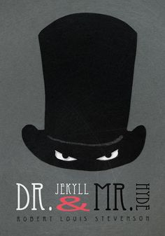 An artistic interpretation of Robert Louis Stevenson's Dr Jekyll and Mr Hyde which can be enjoyed an audiobook through Silksoundbooks