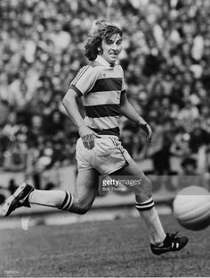 circa 1977, Stan Bowles, Queens Park Rangers, an extrovert gifted player with a cultured left foot, Stan Bowles won 5 England international caps in 1974