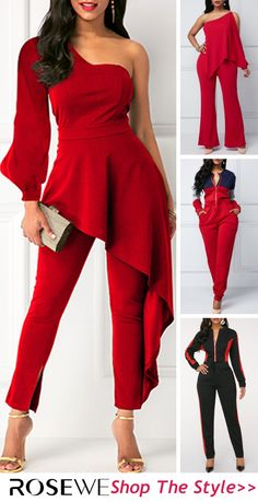 Shop the look today to get more discounts! Winter Fashion Outfits, Red Fashion, Vintage Street Fashion, Womens Fashion, Classy Dress, Classy Outfits, Chic Outfits, Stylish Dresses For Girls, Stylish Sarees