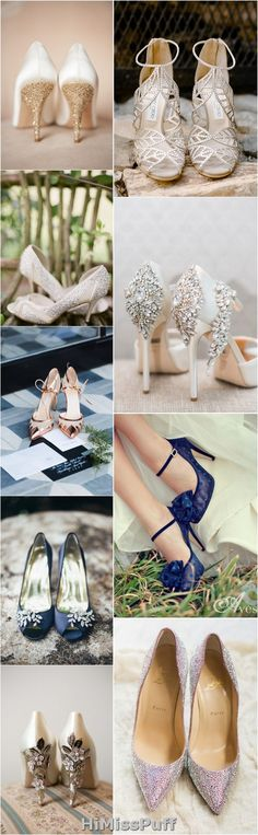 Pretty Wedding Shoes from Pinterest / http://www.himisspuff.com/pretty-wedding-shoes/