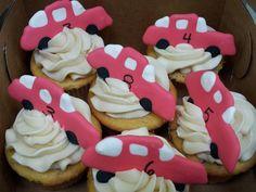 More car cupcakes.