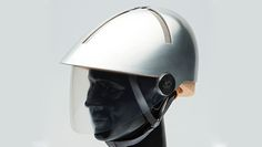 Partnership results in cycling helmet featuring ecologically sensitive cork liner & aluminum shell