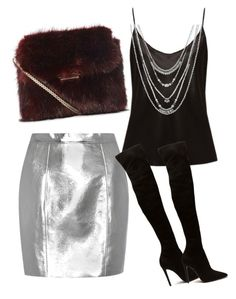 """Untitled #204"" by ivana-j ❤ liked on Polyvore featuring La Perla, Yves Saint Laurent and Lucky Brand"