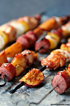 Mix it up tonight with a new take on kebabs and soon this will be your family's new favorite meal.