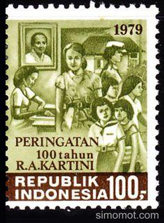Perangko RA Kartini