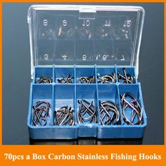 Freeshipping 140pcs 2 boxes High Carbon Stainless Fishing Hooks Japaness Brand Fishing Geer Accessories Tackle