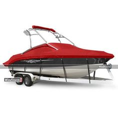 """Eevelle WindStorm Watercraft Cover Beam Width x Centerline: 102"""" x 294"""", Color: White"""