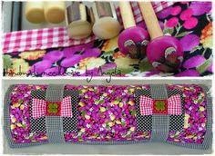 EL. CASE- Knitting Needles, Knit Crochet, Handmade, Cases, Hand Made, Crochet, Craft, Handarbeit