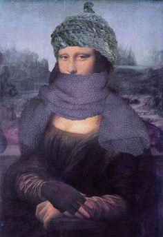 muita roupa de frio!
