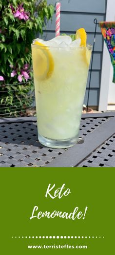 I love drinks!  And this one I can have as often as I want, as the carbs are low and the taste is out of this world! #keto #ketolemonade #lowcarblemonade