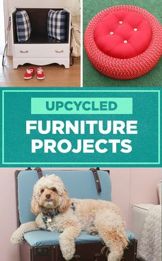 DIY Recycled Furniture Projects ♻️
