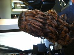Waterfall braid  hairstyle/prom by Angel Delao