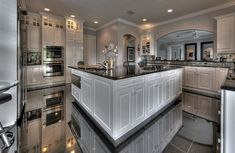 I love how open this kitchen is