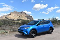 The 2017 Toyota SE Hybrid is undoubtably a fuel-efficient compact CUV but lacks a better driving experience to complete the package. Fuel Efficient Cars, Toyota Rav4 Hybrid, Nissan Rogue, Gasoline Engine, Station Wagon, Fuel Economy, Electric Cars
