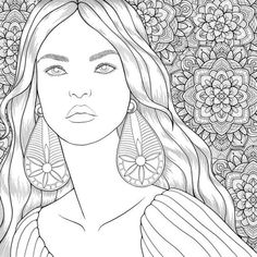 Coloring Tips, Adult Coloring, Coloring Books, Colouring, Paris Painting, Coloring Pages For Girls, Fashion Books, Art Reference, Art Drawings