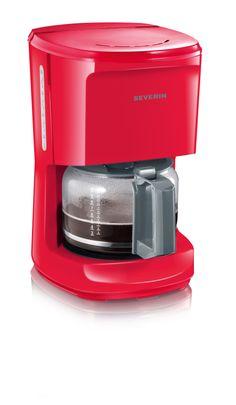 CAFETERA »START« 4484 Rojo-gris Embalaje de 3 unidades. Aprox. 1000 W. Para 10 tazas. Soporte del filtro giratorio extraíble 1 x 4 con válvula anti-goteo. Indicador del nivel de agua Desconexión automática Placa calentadora Interruptor de encendido/apagado con luz piloto Escala de agua fría en la jarra de cristal Jarra de cristal con tapa aprox. 1.4 L EAN 4008146014567