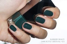 The Beauty Look Book: Burberry Beauty A/W 2014 Nail Polishes | Elderberry, Antique Gold, Ink Blue, Dark Bottle Green and Teal Blue