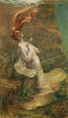 Paul Albert Steck ,Ophelia