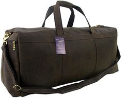 Genuine Leather Bag Shop 30 XXL Mens Rustic Oversized Weekender Duffel * Read more reviews of the product by visiting the link on the image.