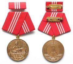 1960-1989 DDR - Orden und Abzeichen GERMAN DEMOCRATIC REPUBLIC medal 20 Years in…