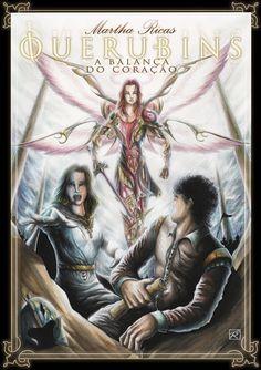 Poster feito para a segunda parte do livro da autora Martha Riccas: Querubins - A Balança do coração
