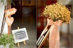 Ideias para mini casamentos: Casamento Rosa e Azul Romântico