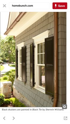 Siding and shutters