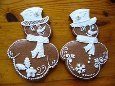 Perníky 2013 Fun Cookies, Cake Cookies, Gingerbread Cookies, Christmas Cookies, Gingerbread Houses, Creative Lettering, Cookie Designs, Betty Crocker, Cookie Jars