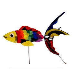 Aquatic Life Wind Spinner - Rainbow Koi Fish - http://www.yourfishguide.com/aquatic-life-wind-spinner-rainbow-koi-fish/?utm_source=PN&utm_medium=http%3A%2F%2Fwww.pinterest.com%2Fpin%2F368450813235896433&utm_campaign=SNAP%2Bfrom%2BKoi+Fish+Facts