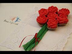 Hoy os enseñamos cómo hacer un ramo de rosas dulces para sorprender a tu pareja o para decorar tu fiesta http://goo.gl/WP8IeI