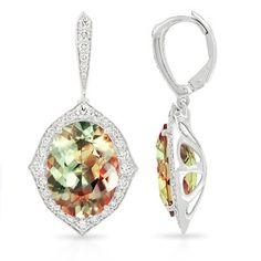 SJP Zultanite White Gold earrings