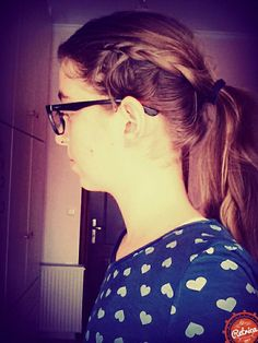 Lazy hairstyle❤