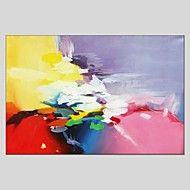 Handgeschilderde+Abstract+Abstract+Eén+paneel+Canvas+Hang-geschilderd+olieverfschilderij+For+Huisdecoratie+–+EUR+€+69.99