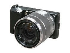 NEX 5... and it is on sale for the holidays: http://store.sony.com/webapp/wcs/stores/servlet/ProductDisplay?catalogId=10551&storeId=10151&langId=-1&productId=8198552921666192672