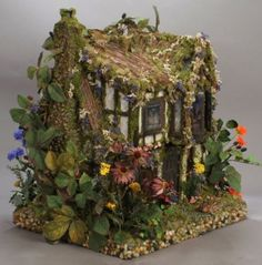 Amazing Doll Houses Designs. Poppy's Cottage Faery Dollhouse.