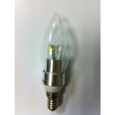*New* 3 Watt - E14 LED Special Clear Candle Light - Warm White