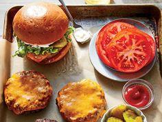 Juicy Grass-Fed Beef Burgers