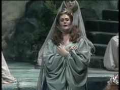 """Absolutely beautiful tremendous voice- the singer of the century....Joan Sutherland """"Casta diva"""" from """"Norma"""""""