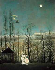 'Carnival Evening', oil on canvas by Henri Rousseau, 1886
