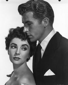 "Elizabeth Taylor & Fernando Lamas, ""The Girl Who Had Everything"" (1953)."