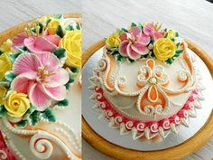 """УКРАШЕНИЕ ТОРТОВ, Торт """"БРИДЖИТ"""" от SWEET BEAUTY СЛАДКАЯ КРАСОТА, Cake Decoration - YouTube"""