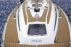 boat floor or deck replacement systems