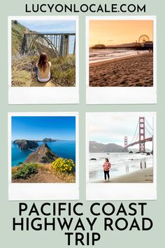 Where To Stop on a Pacific Coast Highway Road Trip: Point Reyes, San Francisco, Big Sur, Santa Monica, Channel Islands, and more! #travel #travelblog #blog #blogger #travelblogger #destination #trip #pacificcoasthighway #california #cali #roadtrip #pacificus #pacificunitedstates #unitedstates #us #californiaroadtrip Highway Road, Pacific Coast Highway, Big Sur California, California Travel, Travel Ideas, Travel Tips, Cross Country Trip, Us Road Trip, Road Trip Essentials